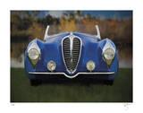 Blue Delahaye Premium Giclee Print by Breck Rothage