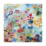 French Floral Giclee Print by Joan Elan Davis