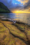 Day's End at Ke'e Beach, Na Pali Coast, Kauai Photographic Print by Vincent James