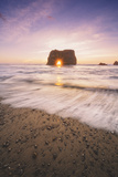 Sun Star at Elephant Rock, Fort Bragg Mendocino Photographic Print by Vincent James
