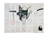 Untitled, 1982-83 Giclee Print by Jean-Michel Basquiat