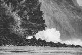 Big Splash at Na Pali Coast, Kauai Hawaii Photographic Print by Vincent James