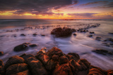 Sunrise at Eastern Shore, Kauai Photographic Print by Vincent James