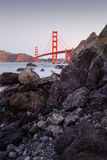 View From The Rocks II, Golden Gate Bridge, San Francisco Photographic Print by Vincent James