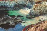 Hidden Beach, California Coast Photographic Print by Vincent James