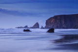 Bluesy Beach, Fort Bragg Mendocino California Photographic Print by Vincent James