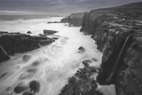 Moody Sonoma Seascape, California Coast Photographic Print by Vincent James