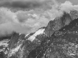 Blustery Morning at Half Dome, Yosemite California Metal Print by Vincent James