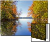 Reflections at Little Squam Lake, Holderness New Hampshire Prints by Vincent James