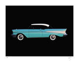 57Chevy Giclee Print by Breck Rothage