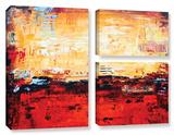 Jolina Anthony's Sunset, 3 Piece Gallery-Wrapped Canvas Flag Set Prints by Jolina Anthony