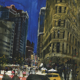 Flat Iron Building, New York Giclee Print by Susan Brown