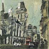 The Royal Courts of Justice, London Reproduction procédé giclée par Susan Brown