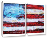 Jolina Anthony's America, 2 Piece Gallery-Wrapped Canvas Set Gallery Wrapped Canvas Set by Jolina Anthony