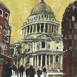 Susan Brown - Autumn, St Paul's, London - Giclee Baskı