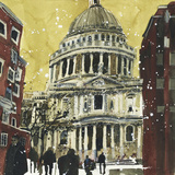 Autumn, St Paul's, London Giclee Print by Susan Brown