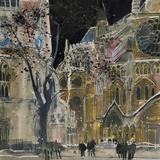Ecclesiastical Icon, Westminster Abbey, London Giclée-tryk af Susan Brown