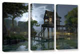 Cynthia Decker's Stillwater, 3 Piece Gallery-Wrapped Canvas Set Prints by Cynthia Decker