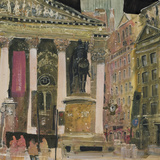 The Royal Exchange, London Giclee Print by Susan Brown