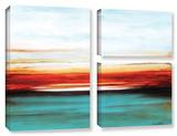 Jolina Anthony's Dawn (Brighter One), 3 Piece Gallery-Wrapped Canvas Flag Set Prints by Jolina Anthony