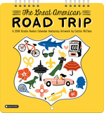 The Great American Road Trip - 2016 Mini Calendar Calendars
