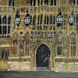 Entrance, Parliament, London Giclee Print by Susan Brown