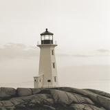 Peggy's Cove Light Gicléetryck av Michael Kahn