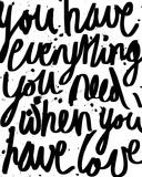 Love is Everything Reproduction procédé giclée par Sasha Blake