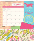 Where Love Grows - 2016 Calendar with Pocket Calendriers