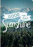 Good Day Sunshine - 2016 17 Month Weekly Planner Calendars