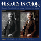 History in Color  - 2016 Calendar Calendars