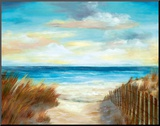 Ocean Breeze Mounted Print by Nan