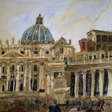 The Vatican, Rome Giclee Print by Susan Brown