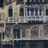 Front Facade Venetian Palazzo Giclee Print by Susan Brown