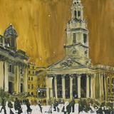 Church on the Square, London Giclee Print by Susan Brown