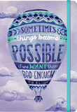 Things Become Possible - 2016 17 Month Weekly Canvas Planner Calendars