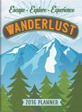 Wanderlust - 2016 Weekly Pocket Planner Calendars