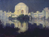 Palace of Fine Arts, San Francisco, 1915 Giclee Print by Colin Campbell Cooper