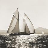 Coucher du soleil en Méditerranée Impression giclée par Michael Kahn