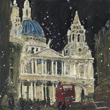 St. Paul's, Front Elevation, London Giclee Print by Susan Brown