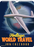 Vintage World Travel - 2016 Poster Calendar Calendars
