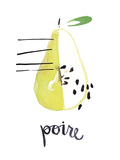 Poire Poster by Kelly Ventura