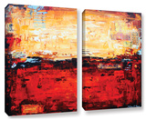 Jolina Anthony's Abstract Warm, 2 Piece Gallery-Wrapped Canvas Set Posters by Jolina Anthony