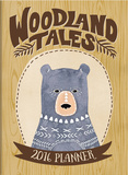 Woodland Tales - 2016 Weekly Pocket Planner Calendars