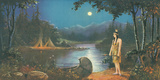 The Tryst, In the Land of Hiawatha Giclee Print by Ambrose Reynaud