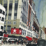 Macy's, New York Giclee Print by Susan Brown
