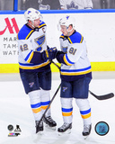 David Backes & Vladimir Tarasenko 2014-15 Action Photo