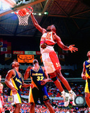 Dikembe Mutombo 1997 Action Photo