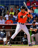 Christian Yelich 2014 Action Photo