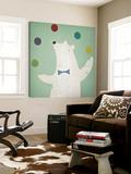 Circus Polar Bear Prints by Ryan Fowler